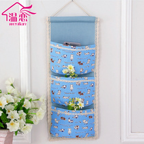 Temperature love storage hanging bag door dormitory bedroom hanging bag hanging multi-layer storage bag small items storage bag
