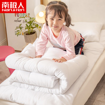 Antarctic kindergarten pillow quilt inner core three sets of thick feather velvet warm childrens bedding six sets