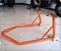 Heavy motorcycle bracket stable motorcycle frame fight Fuxi wildfire inch scooter parking rack maintenance rack