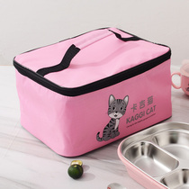 Lunch box insulation bag lunch bag aluminum foil thickening insulation pocket bag waterproof universal bag lunch bag with rice bag