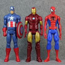 Avengers Queen Patriot Iron Man Spider-Man Hulk Captain America Thor toy model