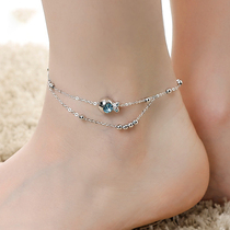Clownfish anklet femininity net red simple student anklet sexy wild foot jewelry niche design anklet