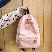 ins wind bag female Korean version of Harajuku ulzzang high school students Japanese vintage girl campus backpack