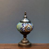 Handmade mosaic lamp glass decoration Moroccan home Turkish lamp coffee shop yoga pavilion Turkish different