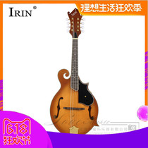 New professional rounded eight string mandolin high-end handmade solid wood trade