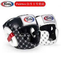 Thaïe Fairtex Boxing Guard Hommes et Femmes Muay Thai Fights Break-up Helmet Fight Training Fist Adulte HG10