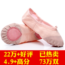 Adult toddler children dance shoes girls soft bottom practice male body cat paw dance yoga white Chinese ballet