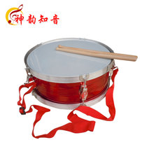 Shen Yunming Young Pioneer Drum Red Silver Small Army Drum with Drum Belt