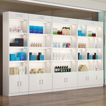 Cosmetics display cabinets beauty salon Skin Care Products Showcase showcase nail shop container display shelves supermarket shelves