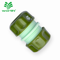 Worth garden tools water pipe repair connection fitting accessories suitable for 4 points water pipe plastic fitting