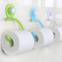 Easy times roll paper holder paper towel holder sucker toilet paper box strong traceless viscose nail-free toilet toilet toilet paper holder
