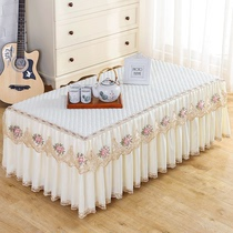 Coffee table tablecloth rectangular living room table table dust pad lace TV cabinet curtain cover cloth cloth all-inclusive coffee table cover