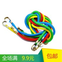 Bundled rope motorcycle luggage strap hook stretch rope battery car trunk strap widening thickening