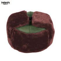 Kolos Lei Feng cap Security cap warm cap thickened cotton hat liberation cap security Property Management cold cap