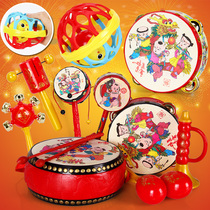 Baby toys 3-6-12 months newborn male and female baby 0-1 years old puzzle early education rattle rattle 8