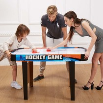 Upgrade version of the table hockey machine childrens desktop ice hockey table electric floating ball cake charging ice hockey table game table
