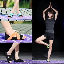 New yoga socks indoor training shoes non-slip socks open toe leakage socks bare feet Air straps five fingers yoga shoes