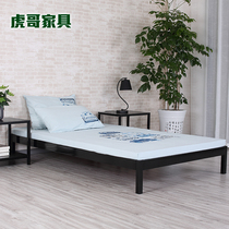 Simple iron bed iron bed frame double bed 1 5 M 1 8 m single bed 1 2 M childrens bed Korean collapse meters