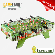 Football table gifts table football machine four-pole table-type desktop football table play football Childrens toys game table