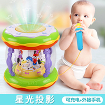 Childrens electronic organ rechargeable music baby early Education Puzzle multifunctional 0-1-3 year old male girl baby toy
