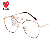 Kawakubo REI 2019 new Korean version can be equipped with myopia glasses frame male glasses female net red retro eyes round face