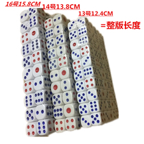 13 14 16MM blue red dot regular ordinary rounded KTV dice dice dice size no.