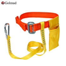 Single waist belt outdoor construction construction site with a safety belt anti-fall operations high-altitude safety rope package