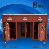 Cabinet coin safe safe for valuables safety table drawer office password safe all-in-one desk