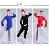 2018 New Xinjiang ethnic minority classical dance yarn gymnastics body mesh training uniform female adult jacket.