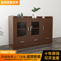 Simple and modern dining Cabinet Cabinet Cabinet Cabinet Cabinet household economy cupboard cupboard Nordic microwave cabinet tea cabinet