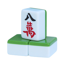 A product home mahjong card large hand rub dark green 40 42mm38 medium leather tablecloth