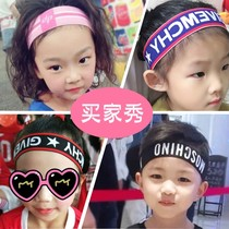 Korean children baby tide girl hip-hop girls boys sports headband baby hair band girl sweat forehead belt