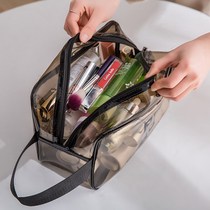 Cosmetic bag female portable high-capacity travel travel essential artifact bath pocket toiletries pouch care set