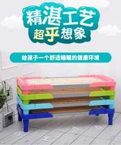Environmental Protection space kindergarten napping bed baby bed girl plastic can be superimposed thickened size practical afternoon care lunch