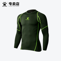 Kalme tights sports long-sleeved mens basketball running fitness clothes 708 football tights keme fitness clothes.