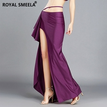 Belly dance skirt womens lower oriental dance skirt sexy 2019 new long skirt beginners practice clothes wrap hips