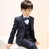 d021aa17 Large children 8 boys casual small suit jacket dress autumn models 7-12 years  old
