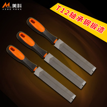 Meike saw file repair saw file steel setback diamond file metal fine tooth triangular file woodworking plastic setback rubbing knife