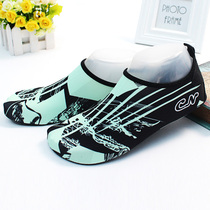 Couple models yoga shoes beach shoes female male snorkeling shoes swimming stickers skin diving shoes children Beach socks treadmill shoes