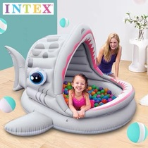 INTEX children ocean ball pool indoor home wave pool ocean ball fence baby toy 1 year old