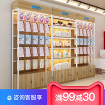 Display cabinet shelves cosmetics display shelf maternal and child store shelves boutique container showcase bags shoes rack shelves