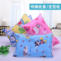 Pillowcase summer female baby children pillow 0-1-3-aged baby buckwheat cartoon school corrected cute