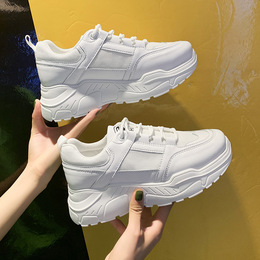 2020 spring new Korean version of sports shoes women's ins hundred students father shoes women's net red street shoot breathable women's shoes
