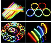 Prom singing party flash stick high brightness long time fluorescent stick bracelet night light stick with connector