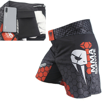 SOTF Boxing shorts MMA fight training mixed combat pants UFC Sports Fitness jiu jitsu Sanda Muay Thai pants