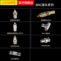 Dragon Vision Security Monitoring Equipment Connector Accessories BNC Adapter AV Adapter BNC straight head Elbow
