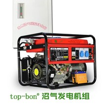 Single-phase household small biogas generator set 6KW three-phase multi-fuel generator set farm with 5000W