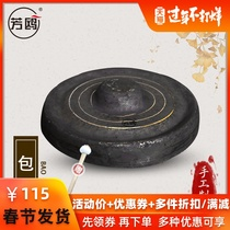 Fang OU gongs and drums musical instruments gong ring gong Taoism Taoism Taoist copper cymbals bag gong blow 铓 gong winter gong big lump gong