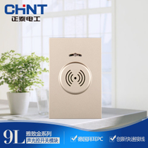 Zhengtai 120 type 9L wall switch socket function key sound and light control delay switch 100W module