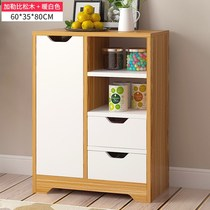 Home sliding door hotel simple table side cabinet dining cabinet Home Home cabinet cabinet storage